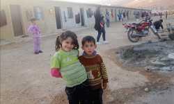 أيتام وأرامل القصير في حمص يحتمون بمخيم «أبناء الشهداء» في عرسال