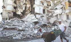 معارضو حلب يقاتلون بـ(حذر) في أسواقها القديمة للحفاظ على تراثها