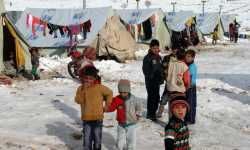 يونيسيف: وفاة خمسة عشر طفلاً في سوريا بسبب البرد