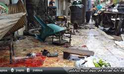 جرحى مدنيون جراء انفجار دراجة مفخخة في جرابلس (صور)