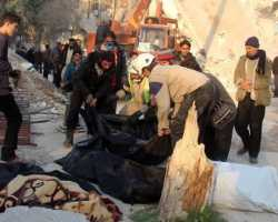 الائتلاف يدين مجزرة إدلب، ويطالب روسيا بردع النظام