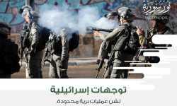 توجهات إسرائيلية لشن عمليات برية محدودة