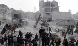 شبكة حقوقية: 10200 قتيل في سوريا خلال 2017