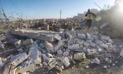 الدفاع المدني: حملة القصف الوحشية تهدف إلى تهجير الأهالي من جنوب إدلب (بيان)