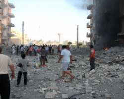 مجزرة جديدة للتحالف الدولي في الرقة تخلف أكثر من 40 قتيلاً