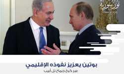 بوتين يعزز نفوذه الإقليمي عبر كبح جماح تل أبيب