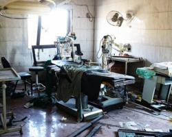 غارة روسية تخرج مشفى عن الخدمة بريف إدلب الجنوبي