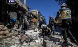 حصاد أخبار الاثنين - ضحايا في قصف على سوق شعبية في سراقب، وميلشيا قسد تستلم شحنة أسلحة ومعدات من واشنطن -(22-4-2019)