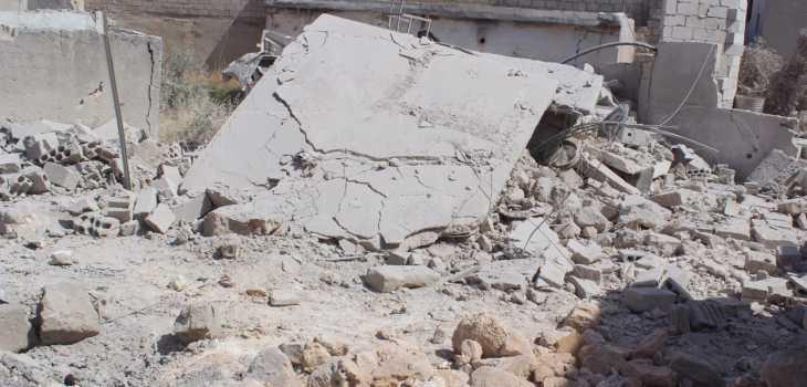قصف لايهدأ على إدلب .. حصيلة ضحايا مرتفعة ليوم أمس الاثنين