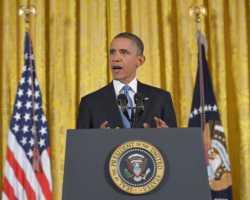 أوباما يشيد بتحفظ بمعارضة سوريا