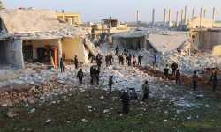 غارات روسية تقتل خمسة مدنيين في ريف حلب الجنوبي