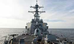 بارجة أمريكية مجهزة بـ60 صاروخ كروز تتجه نحو السواحل السورية