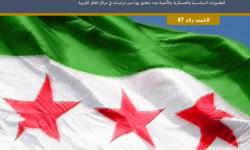 التقرير الاستراتيجي السوري العدد 47