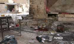 11 شهيداً في مجزرة لقوات النظام بمعرة النعمان