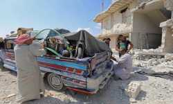 منسقو الاستجابة: أكثر من سبعة آلاف عائلة نزحوا من جنوب إدلب بسبب القصف