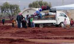 موجة نزوح كبيرة بسبب الحملة على ريفي حماة وإدلب