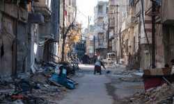 الدفء حلم السوريين في المناطق المحاصرة بريف حمص