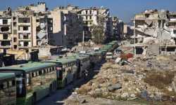اكتمال فصول تهجير حلب: 6600 عائلة تغادر بيوتها!