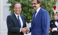 تنسيق قطري فرنسي بشأن سوريا