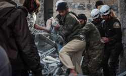 شبكة حقوقية: 35 مجزرة في سوريا خلال آذار الماضي، نصف ضحاياها أطفال ونساء