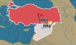 العملية التركية شرقي الفرات.. وحدودها