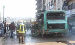 نشرة أخبار الأحد- ضحايا في تفجير استهدف حافلة ركاب في عفرين، والكيان الإسرائيلي يستهدف مواقع إيرانية جنوب دمشق -(20-1-2019)