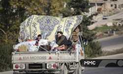 إدلب: موجة نزوح كبيرة بسبب القصف.. ألفا عائلة نازحة خلال يوم واحد
