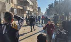 اعزاز: ضحايا في قصف مصدره