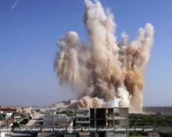 نشرة أخبار سوريا- عشرات القتلى والجرحى في صفوف النظام وحزب الله جراء تفجير نفق في الفوعة، وتحرير كتلة كاملة من الأبنية على الجبهة الشمالية لمدينة داريا -(10_8_2015)