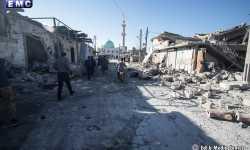 يوم دامٍ في إدلب، ثلاث مجازر جرّاء قصف جوي وصاروخي