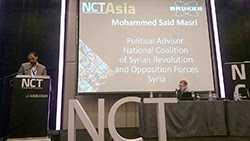 ممثل عن الجيش الحر يشارك في مؤتمر عالمي لمكافحة الأسلحة غير التقليدية في ماليزيا