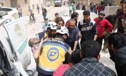 ريفا إدلب وحماة تحت القصف .. الحربي والمروحي لا يغادر سماء المنطقة