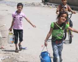 انقطاع المياه أزمة تخنق أهالي حلب
