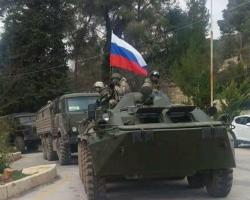 100 جندي روسي على الحدود السورية التركية لحماية عناصر