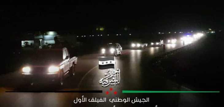 فصائل ريف حلب ترسل تعزيزات عسكرية إلى جبهات إدلب وحماة