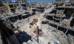 يوم دامٍ في إدلب .. 39 شهيداً في مجزرة
