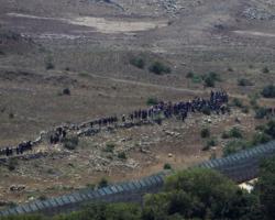إسرائيل تبعد النازحين السوريين عن السياج الحدودي في الجولان المحتل