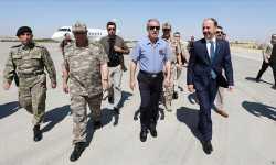 مساعٍ تركية لإقامة المنطقة الآمنة .. وزير الدفاع التركي يزور ولاية أورفا الحدودية