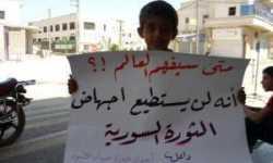 نواقص في الثورة السورية