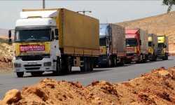 42 ألف شاحنة مساعدات من الهلال التركي إلى الداخل السوري