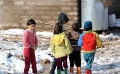 في مخيمِ اللاجئين