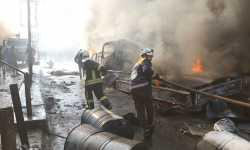 ضحايا جرّاء انفجار سيارة مفخخة في عفرين