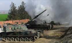 الجيش التركي يستهدف مواقع للميلشيات الانفصالية في تل رفعت
