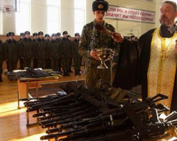 الحرب المقدسة للكنيسة الروسية في الشرق الأوسط