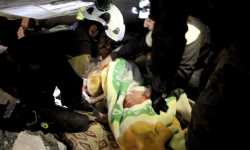أربعة أطفال وأبوهم، ضحايا مجزرة روسية في ريف إدلب