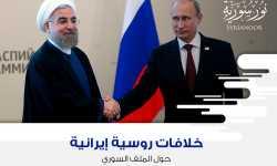 خلافات روسية-إيرانية حول الملف السوري