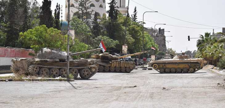 قوات النظام تعلن دمشق وريفها تحت سيطرتها بالكامل