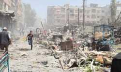 روسيا نفذت 54 هجمة بالذخائر العنقودية على سورية