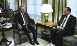 نصر الحريري يبحث مع وزير الخارجية التركي مستجدات العملية السياسية