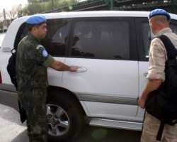 اتهام سوريا بعرقلة الاتفاق مع المراقبين